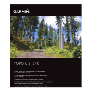 Garmin TOPO U.S. 24K - Northwest Digital Map