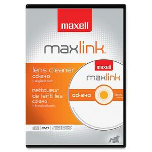 Maxell CD-240 CD/DVD Lens Cleaner