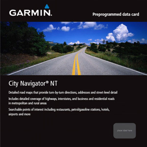 Garmin City Navigator Europe NT - Benelux/France Digital Map