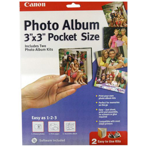 Canon 0041B009 PAPER, CANON, 3X3 POCKET SIZE PHOTO Print Media