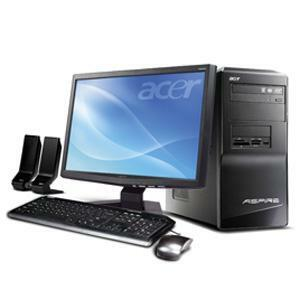 Acer Aspire AM1641-U1521A Desktop Computer - 2 GHz