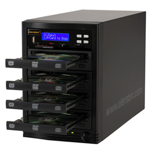 Aleratec CD/DVD Duplicator with Flash Memory Reader