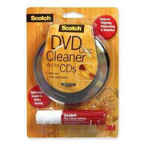 Scotch Disc Cleaner for CDs and DVDs