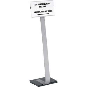 Durable Info Sign Duo Floor Sign Stand