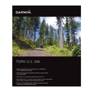 Garmin TOPO U.S. 24K - Mountain South Digital Map
