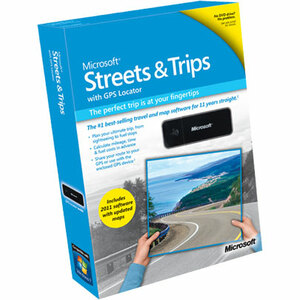 Microsoft Streets and Trips 2011 with GPS Locator - Complete Product - 1 PC
