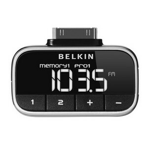 belkin tunefm n10117 not working with ipod touch