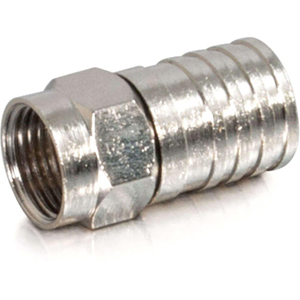 C2G Quad Hex Crimp F Connector
