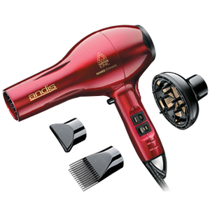 Andis 82075 Andis 1875W Ionic Hair Dryer Red