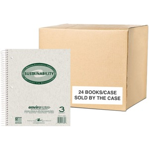 Roaring Spring Environotes 3-Subject Wirebound Notebook