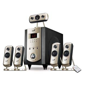 Genius GHT-V150 Home Theater Speaker System