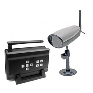 Q-see QSDT404C Wireless Surveillance System