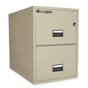 SEN2G3131P - Sentry Safe Vertical Fire File Cabinet