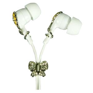 Logic3 Crystal Sound Flower Butterfly Earphone