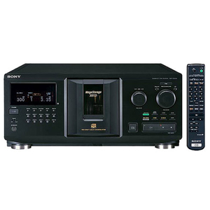 Sony MegaStorage CDP-CX355 CD Player/Changer