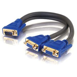 C2G VGA/SVGA Monitor Y-Splitter Cable
