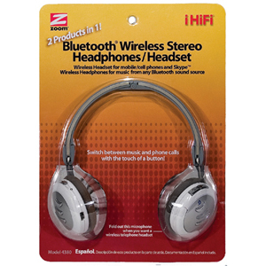 Zoom iHiFi  Bluetooth Headset