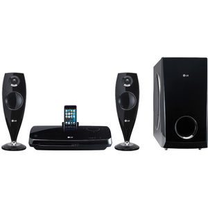 LG HT33S Home Theater System with iPod