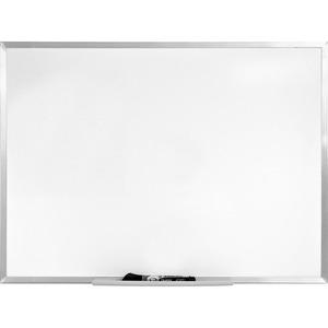 WHITE BOARD 1.5'X2' ALUM. REMOVABLE LEDGE
