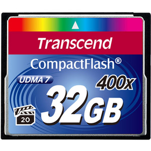 Transcend 32 GB CompactFlash (CF) Card - 1 Card
