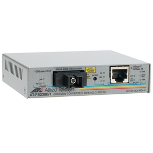 Allied Telesis AT-FS238B/1 Fast Ethernet Media Converter