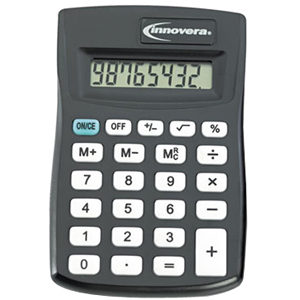 Innovera 15901 Pocket Calculator