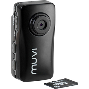 Veho VCC004MUVIBLK Muvi Atom Black Micro DV Camcorder Audio Electronics