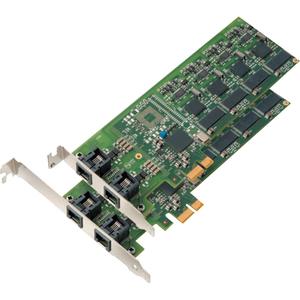 Mainpine IQ Express RF5122 Intelligent Fax Board - 4 Communication Lines - Analog - Super G3 - PCI Express x1