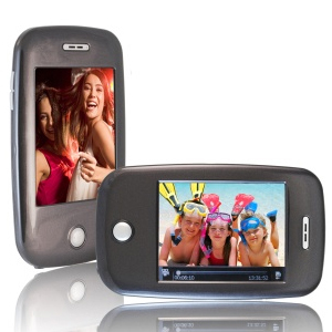 XOVision EM608VID 8 GB Charcoal Flash Portable Media Player