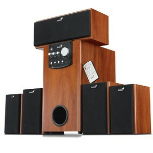 Genius SW-HF5.1 5000 Home Theater Speaker System