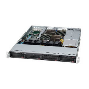 Supermicro A+ Server 1022G-URF Barebone System - 1U Rack-mountable - AMD SR5670 Chipset - Socket G34 LGA-1944 - 2 x Processor Support