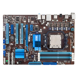 Asus M4A87TD/USB3 Desktop Motherboard - AMD 870 Chipset - Socket