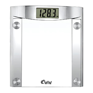 Conair WW44 Weight Watchers Glass Digital Scale
