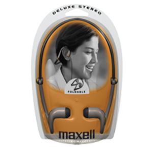 Maxell NB/HB-310F Deluxe Stereo Headphone