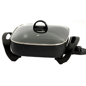"West Bend 72212 - 12"" Extra Deep Electric Skillet"
