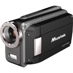 "Mustek HDV527W Digital Camcorder - 2.7"" LCD - CMOS - HD - Black"