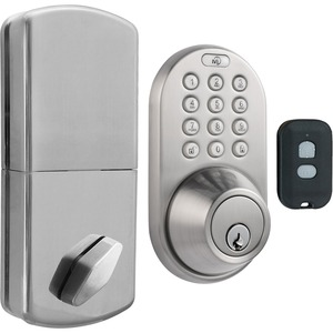Morning QF-01SN 3-in-1 Remote Control and Touchpad Dead Bolt