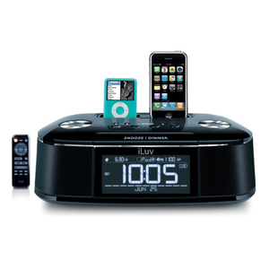 iLuv iMM173 Clock Radio For iPod