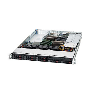 Supermicro SuperServer 1026T-6RFT+ Barebone System - 1U Rack-mountable - Intel 5520 Chipset - Socket B LGA-1366 - 2 x Processor Support