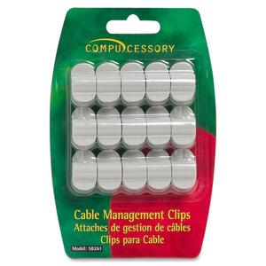Compucessory 58261 Cable Clip