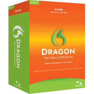 Nuance Dragon NaturallySpeaking v.11.0 Home With Headset - Complete Product - 1 User