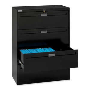 TNNLPL4248L40BK - Tennsco LPL4248L40 Lateral File Cabinet