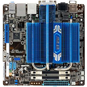 Asus AT5IONT-I Desktop Motherboard - Intel NM10 Express Chipset - Socket BGA-559