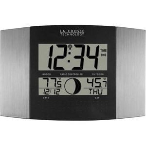 La Crosse Technologies WS-8117U-IT-AL LC Atomic Digital Wall Clock