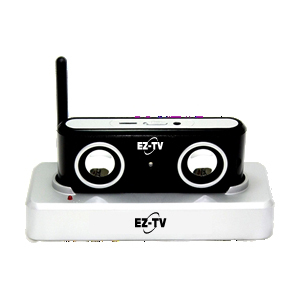 EZ-TV Listening MD2010B Speaker System - Wireless Speaker(s) - Black