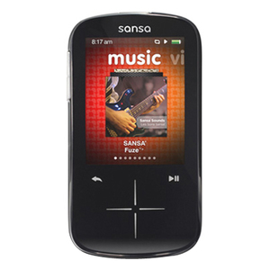 Sandisk Sansa Fuze+ 4 Gb Mp3 Player (black) - Sdmx20r-004gk-a57