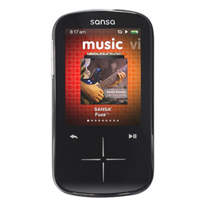 Sandisk Sansa Fuze+ 8 Gb Mp3 Player (black) - Sdmx20r-008gk-a57