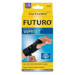3M COMMERCIAL OFC SUP DIV Futuro Left Hand Large/Extra Large Wrist Support , Black at Sears.com