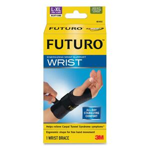 3M COMMERCIAL OFC SUP DIV Futuro Right Hand Large/Extra Large Support , Black at Sears.com