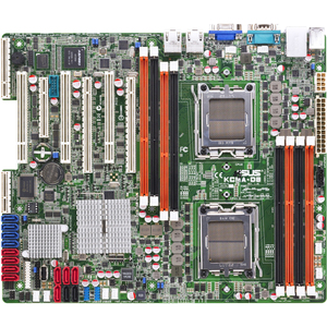 Asus KCMA-D8 Server Motherboard - AMD SR5670 Chipset - Socket C3
